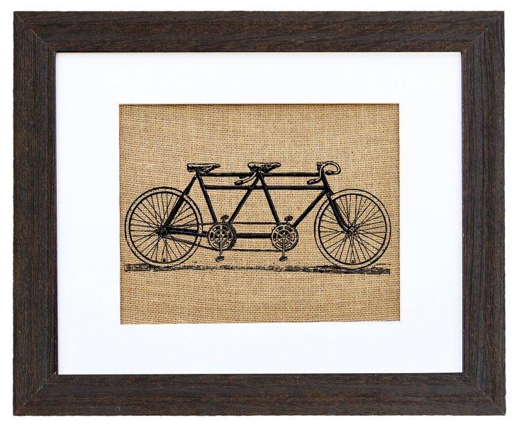 Vintage 1940s Tandem Bicycle