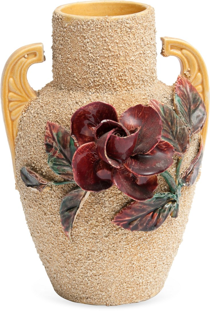 Yellow Sand Vase