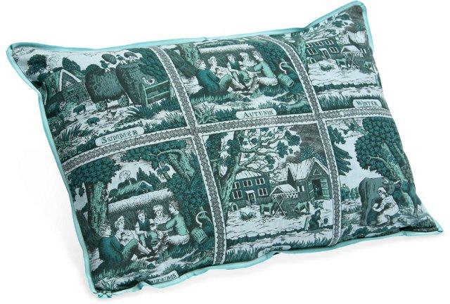 Four Seasons Lumbar Pillow