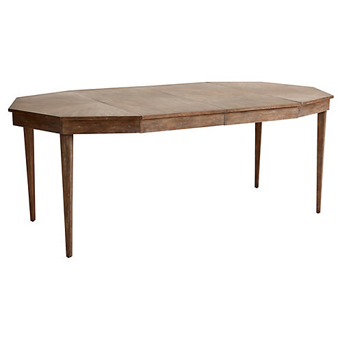 Hull Extension Dining Table, Driftwood