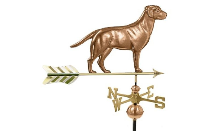 Cooper Dog Weathervane