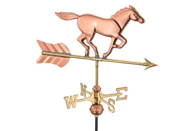 """21"""" Horse Weathervane"""