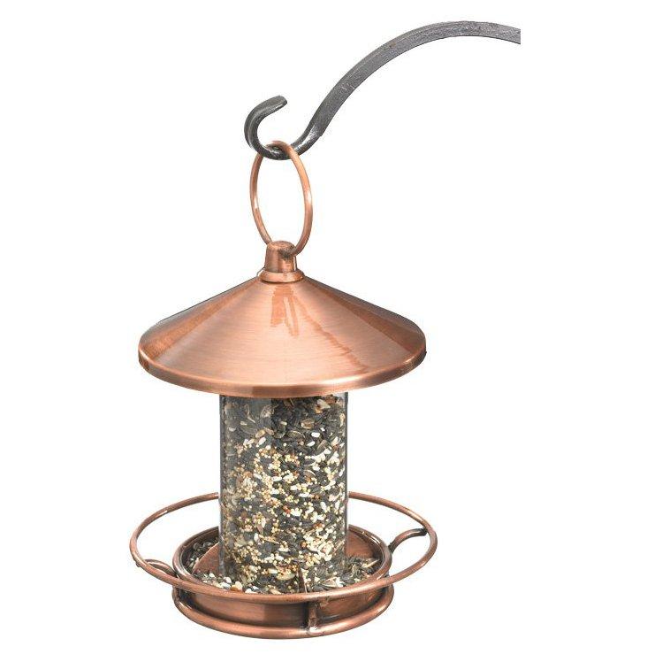 "15"" Perch Bird Feeder, Venetian Bronze"