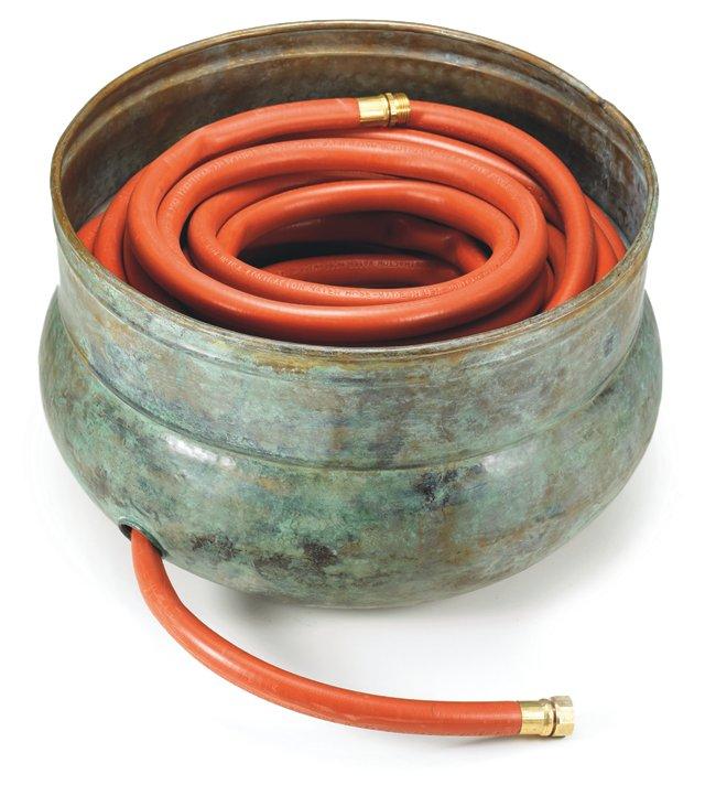 """18"""" Sonoma Hose Pot, Blue"""