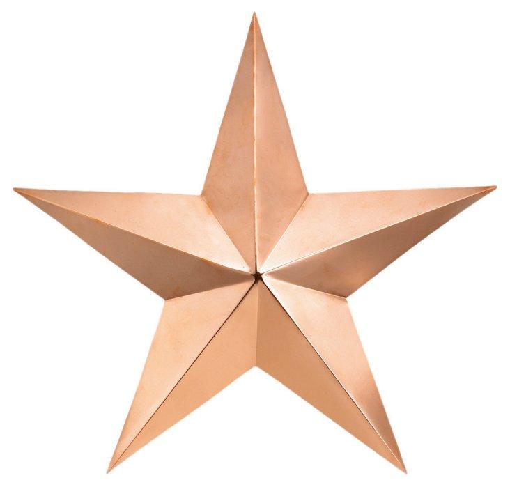 "23"" Barn Star, Copper"