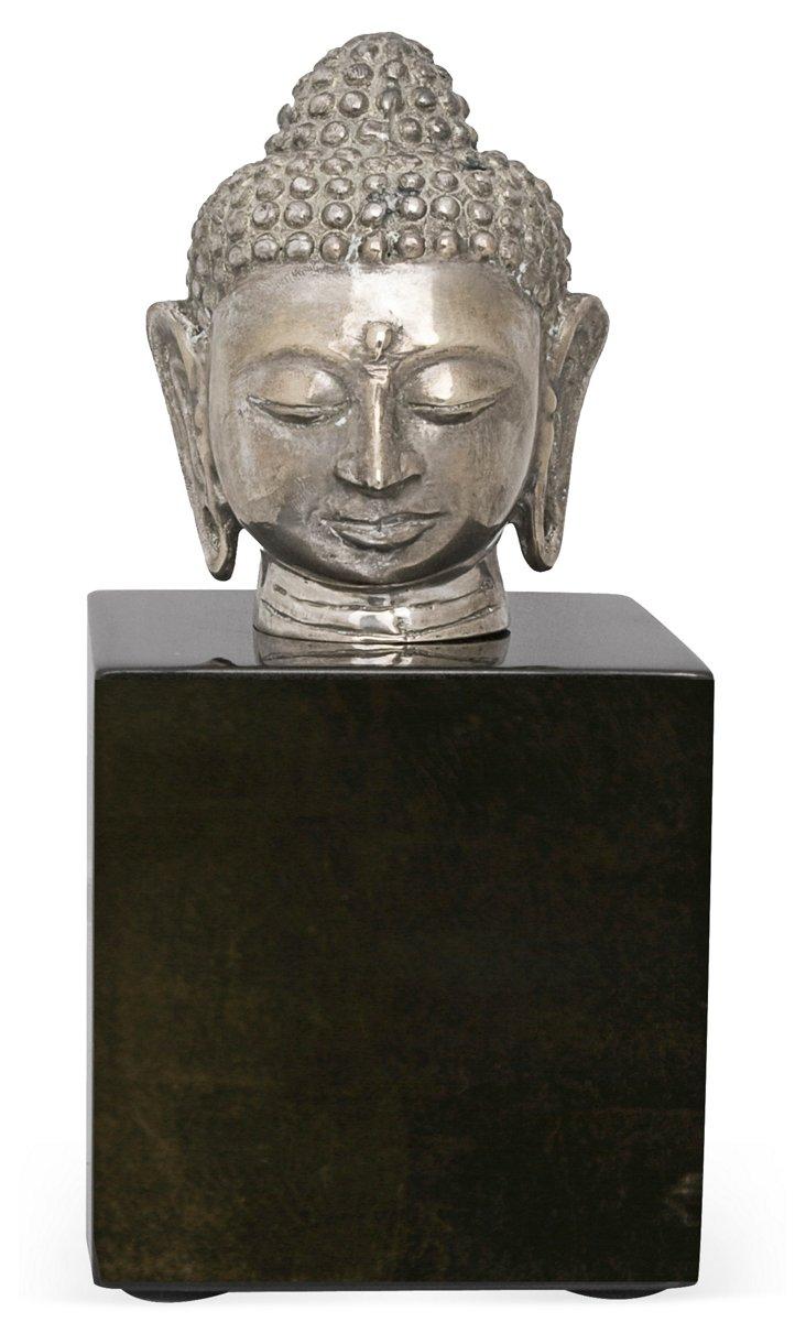 Buddha Head on Stand II