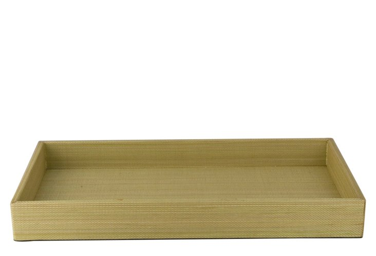 Tray, Chartreuse