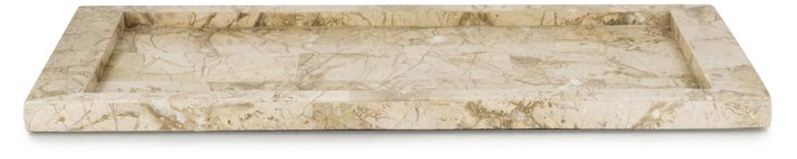 Suede Stone  Vanity Tray
