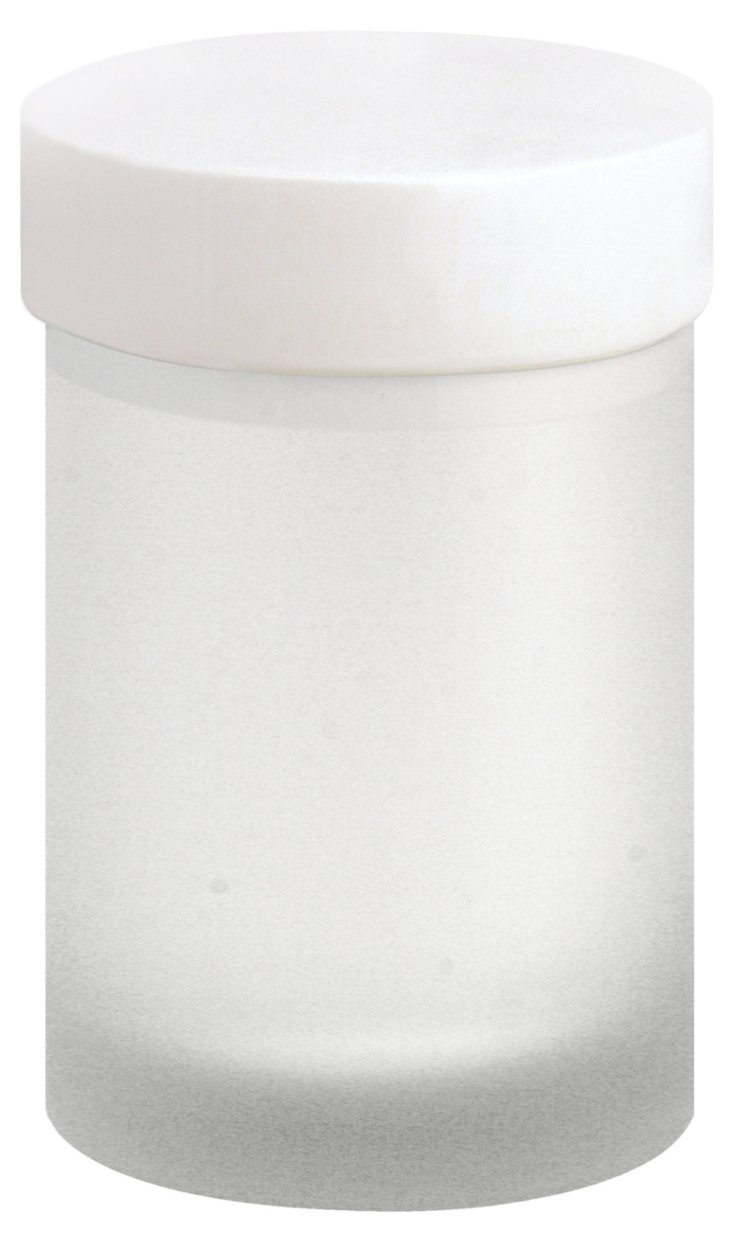 White Lacquer Canister