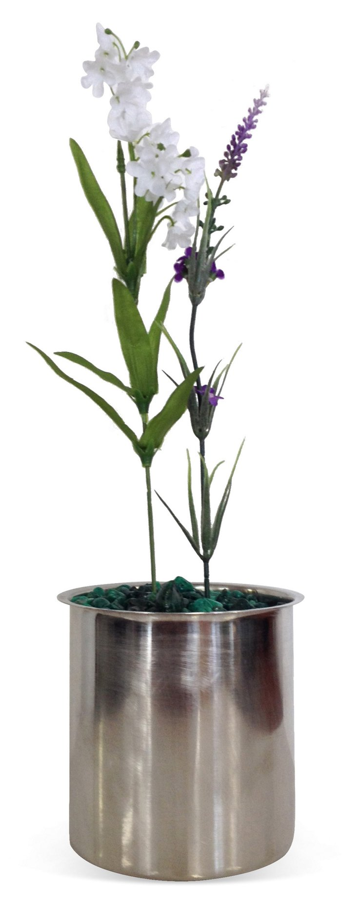 """5"""" Stainless Steel Flower Pot"""