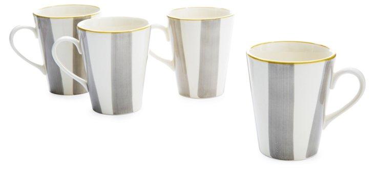 S/4 Ceramic Colette Mugs