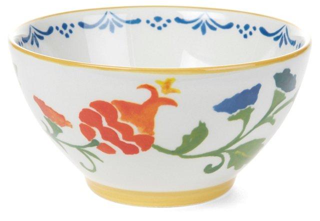 S/4 Ceramic Pomegranate Bowls
