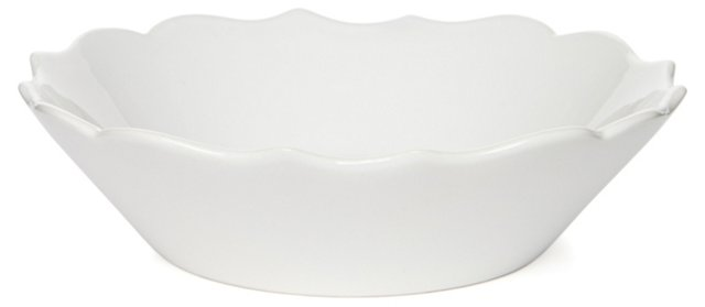 S/4 Baroque Bowls, White