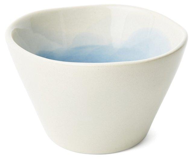 S/4 Hand-Painted Splash Condiment Bowls