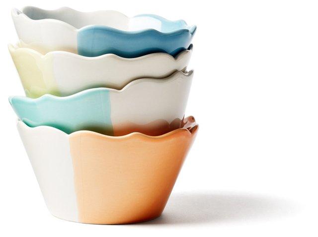 Asst. of 4 Dipped Sundae Bowls