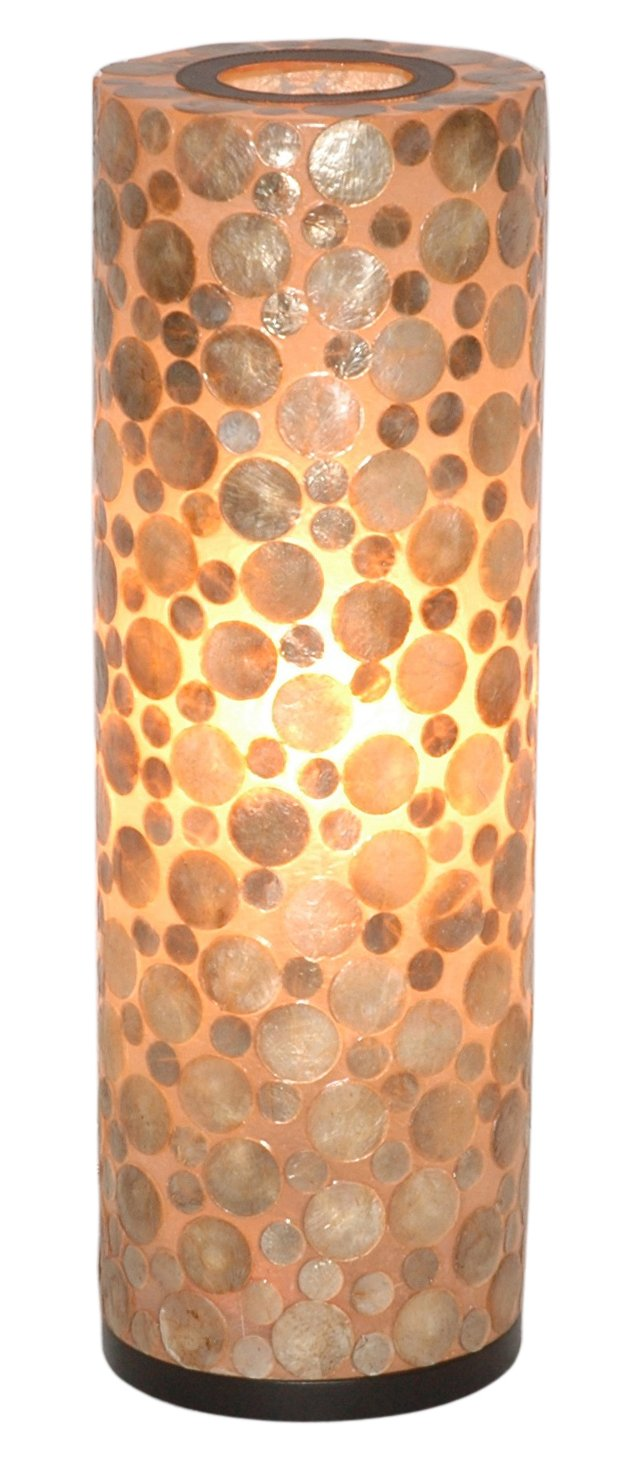 Bubbles Decorative Round Table Lamp