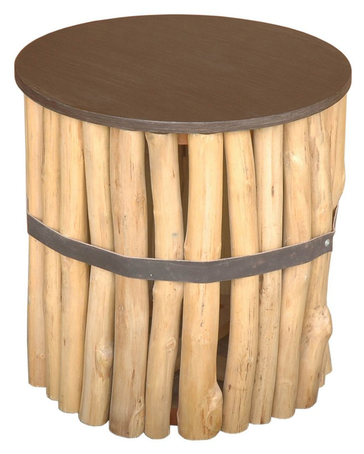Castlewood Round End Table