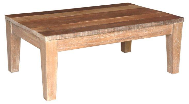 Quahog Coffee Table, Natural