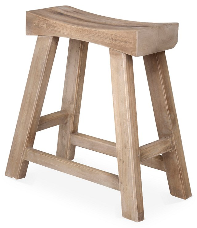Cahoon Stool, Natural