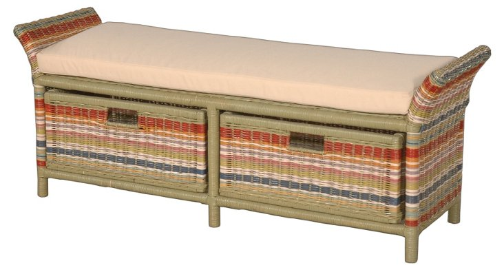 Hemingway Double Bench