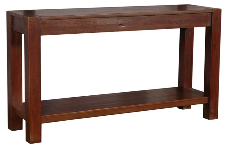 Astor Console Table, Maple