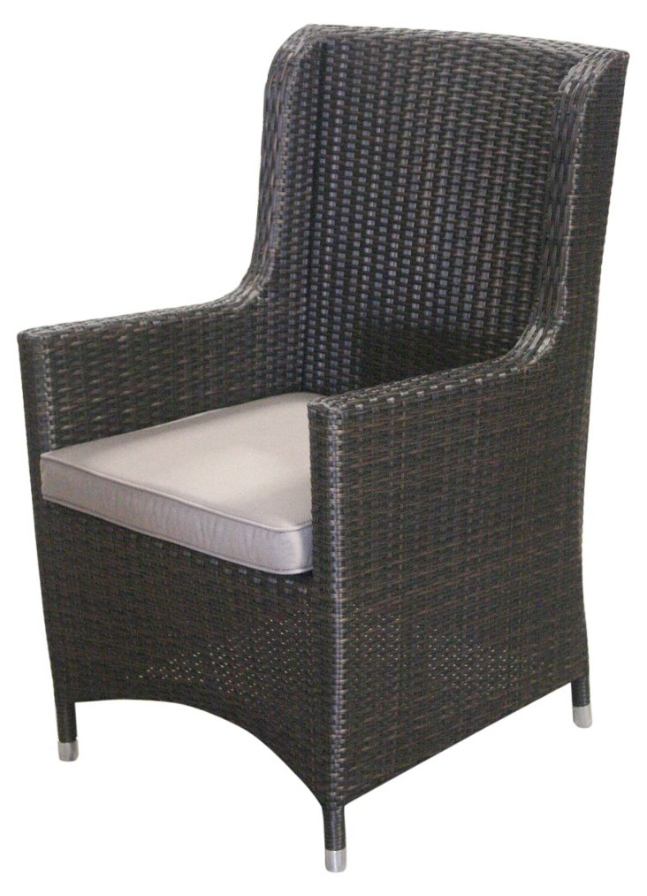 Cosy Chair, Wenge/Gray