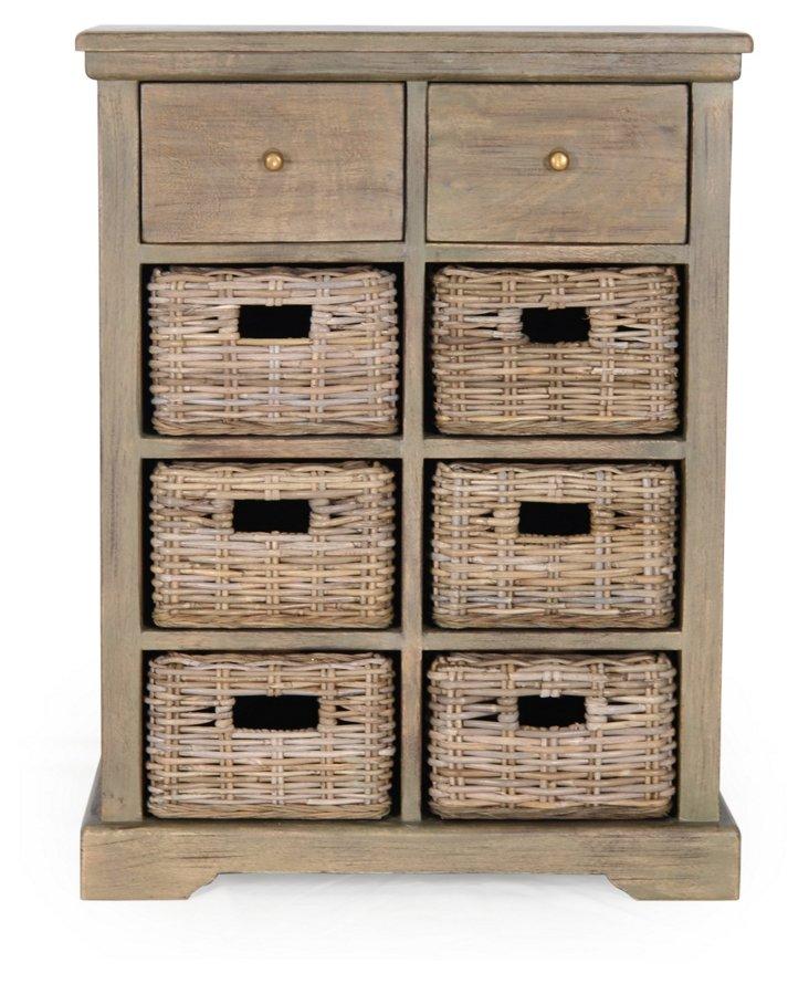 Logan 2-Drawer Cabinet