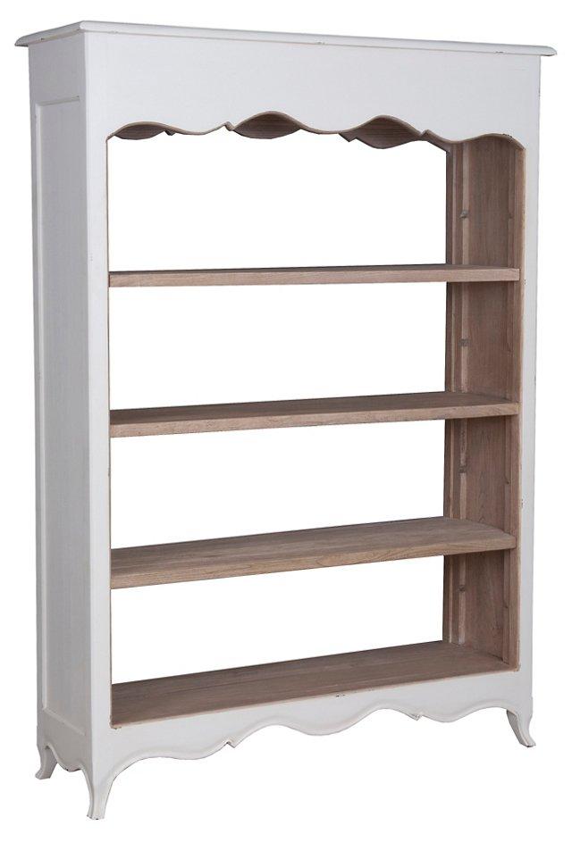 Sienna Open Bookcase, Wide
