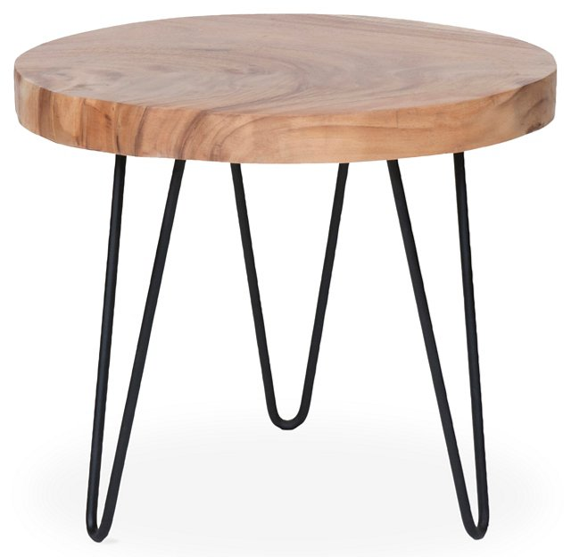 Jack Rustic Side Table, Natural
