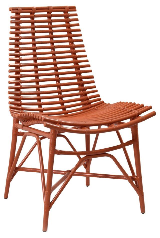 Claiborne Side Chair, Orange