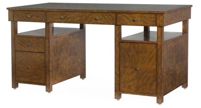Open Pedestal Desk