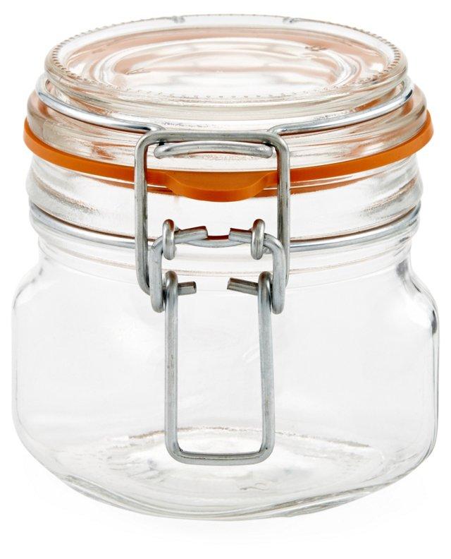 S/4 Hermetic Jars, 7 Oz