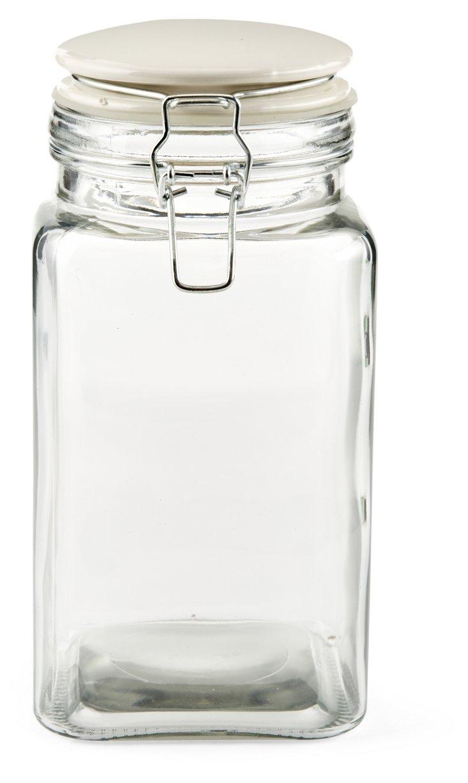 S/3 Cresta Quadra Jars, 52 Oz