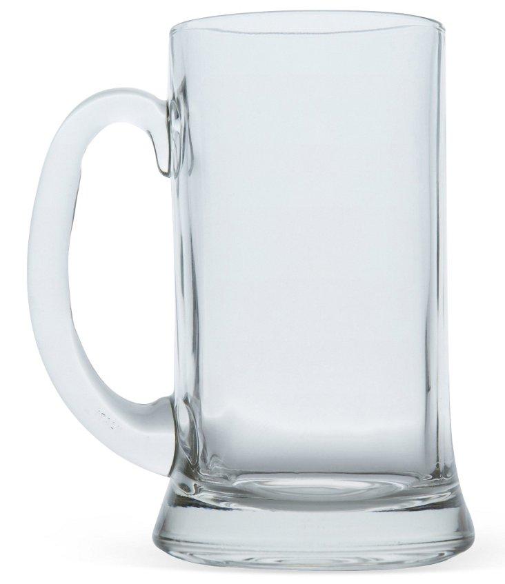 S/6 Classic Beer Mugs