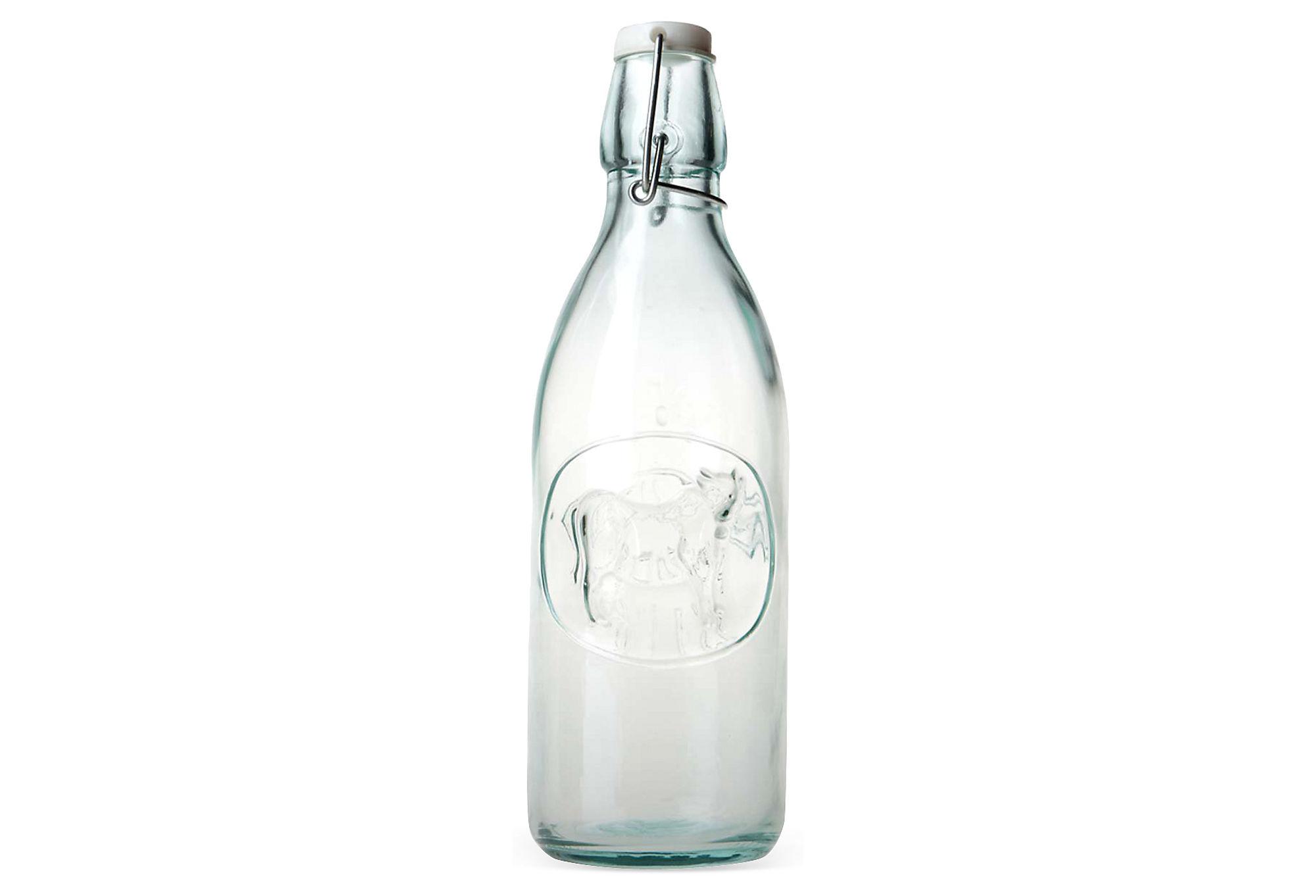Orange Juice Glass Bottle