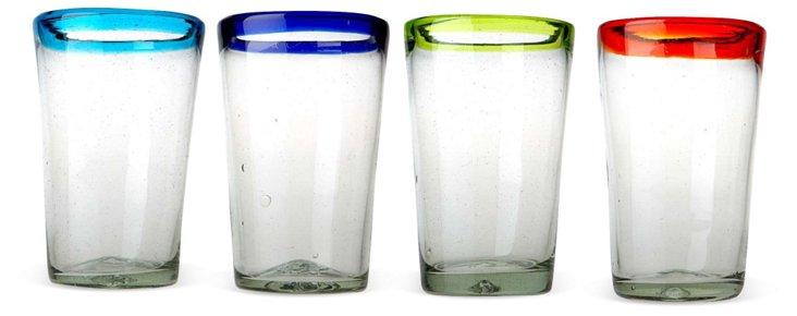 S/4 Baja Highball Glasses