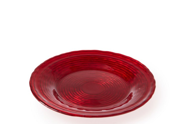 S/4 Brava Red Side Plates