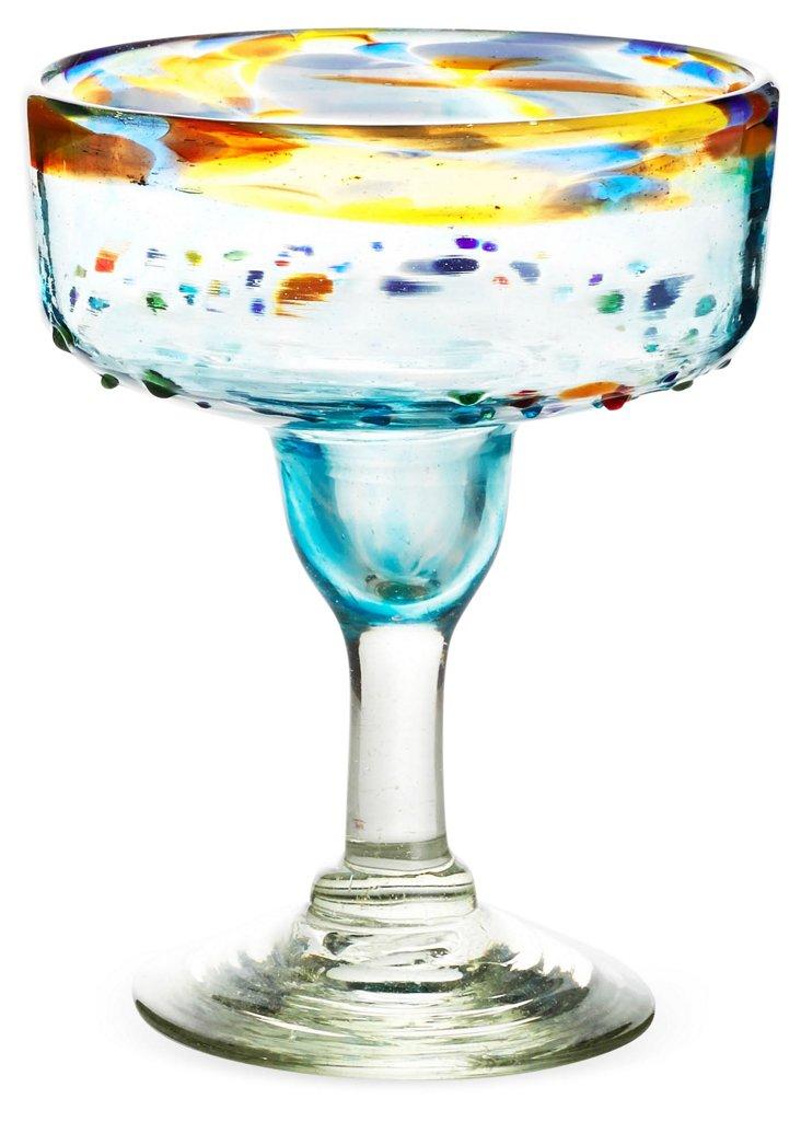 S/6 Del Sol Margarita Glasses