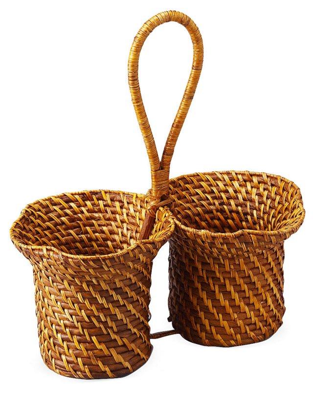 Caribbean Wine Basket