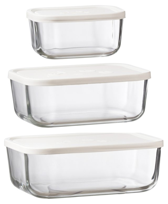 Asst of 3. Food Storage Containers
