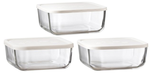 Asst. of 3 Food Storage Containers