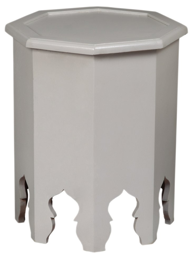 Weiss Octagonal Table, White