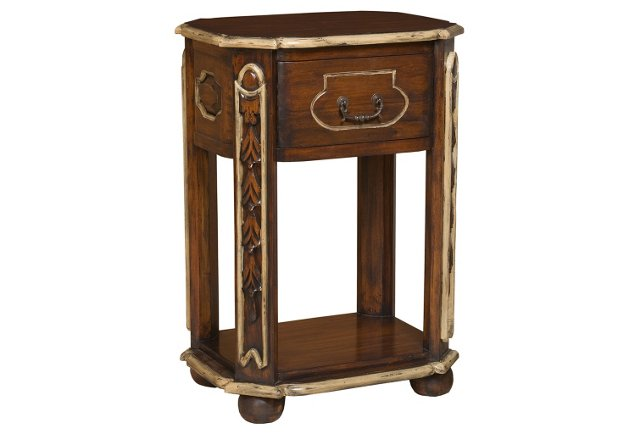 Carved Italian Night Stand