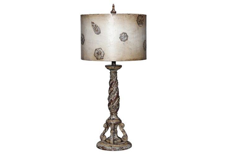 Medallion Table Lamp
