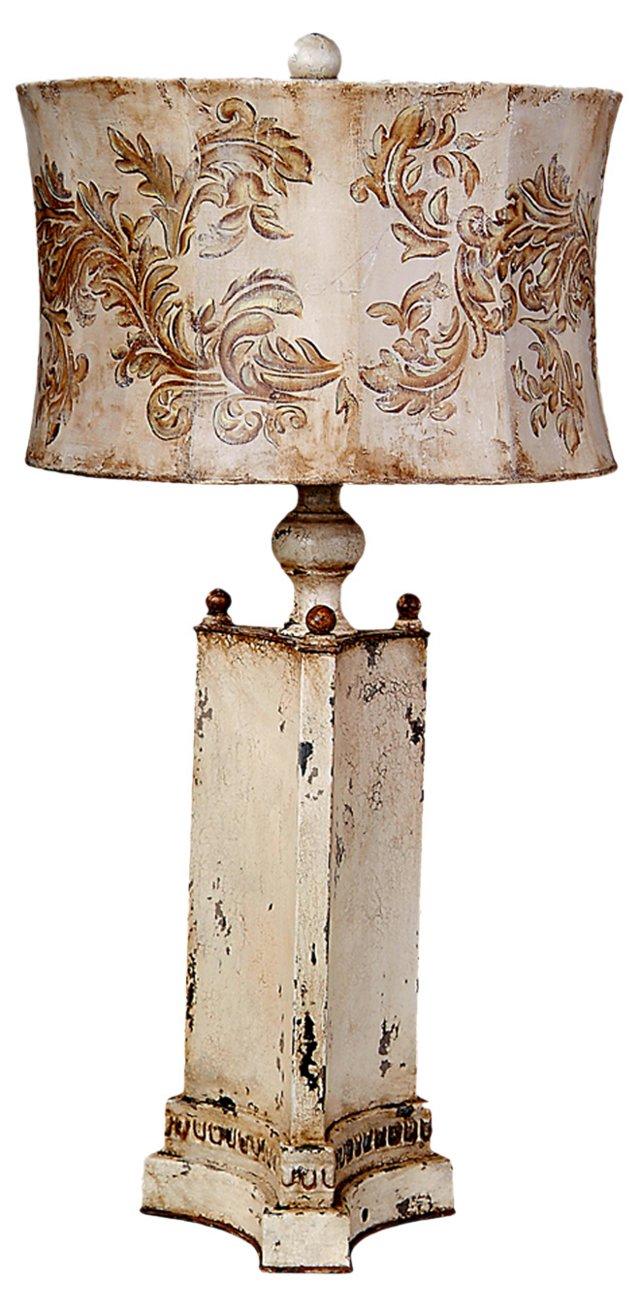 Triangular Table Lamp