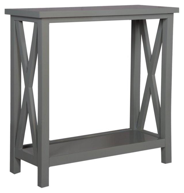 Goran Console Table, Gray