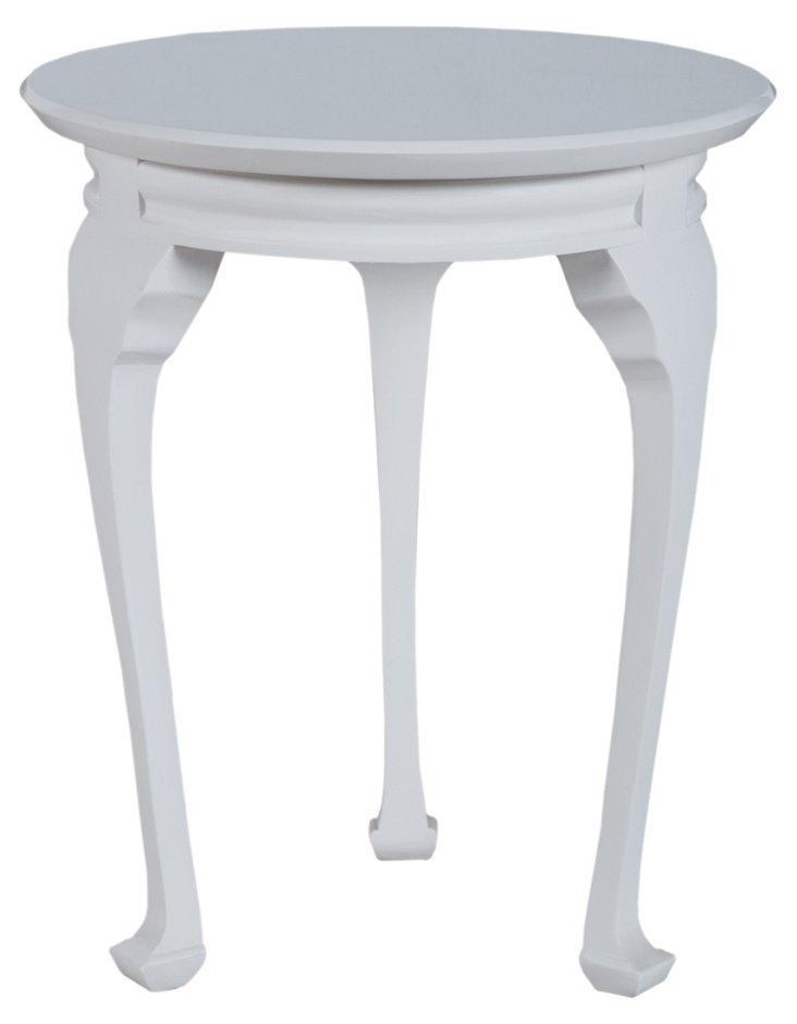 Alden Side Table, White