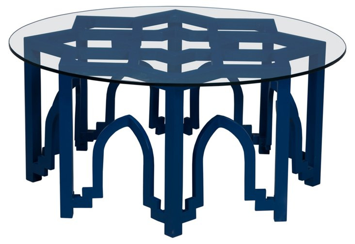 Abby Coffee Table, Navy