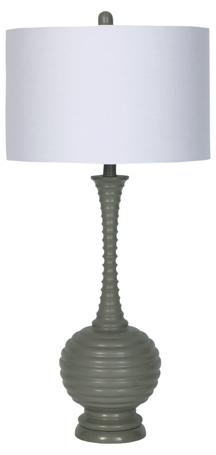 Margo Table Lamp, Gray