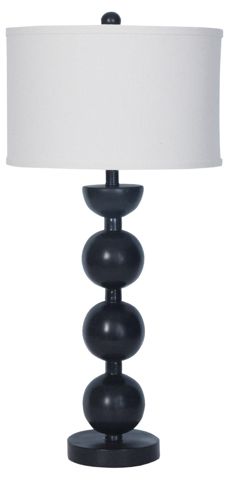 Damin Table Lamp, Black